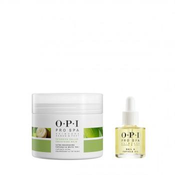 OPI可可白茶角质软化嫩滑膏(足部)118ml惠选套装